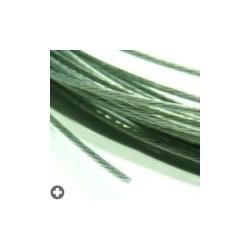 Câbles en acier pour modélisme d : 1,0mm - L : 5m