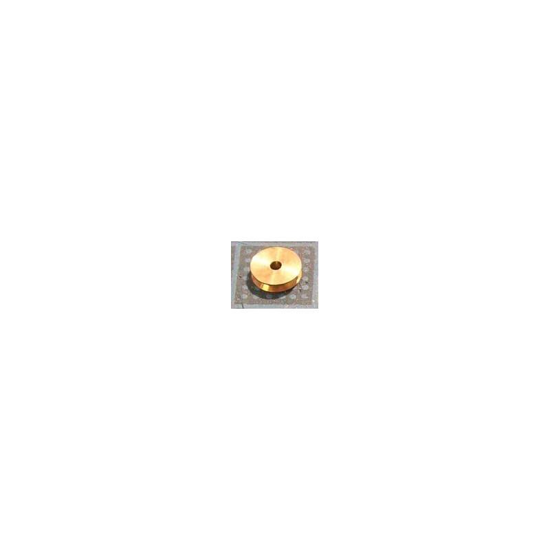 Poulie à gorge de 5 mm