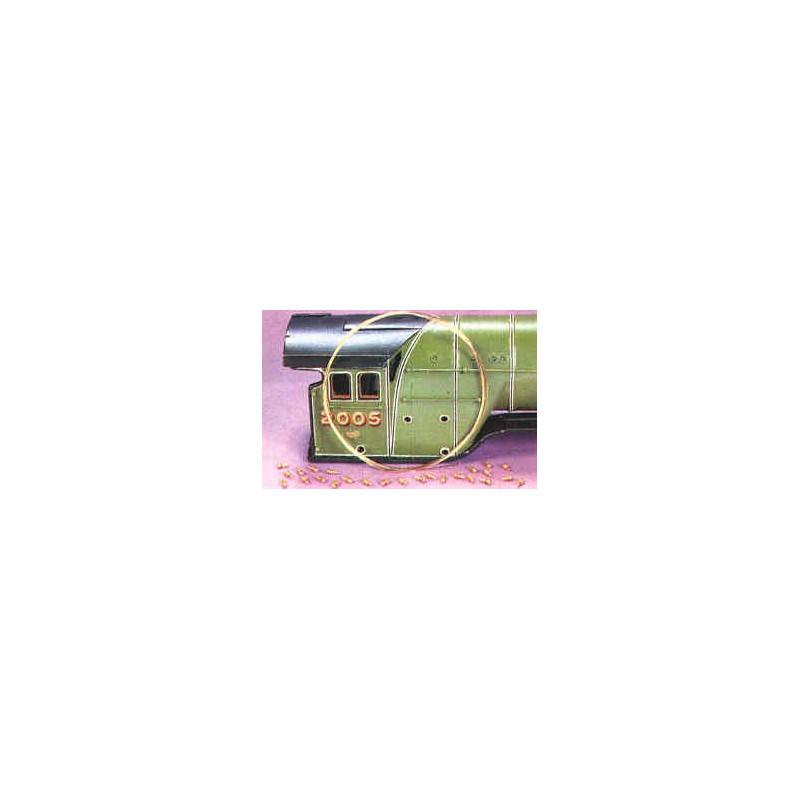Sachet de 24 filières HO L 1.3mm - fil de 0,4 mm