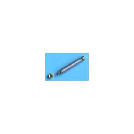 Axe type Romford 3,00 mm (bouts carrés) en inox