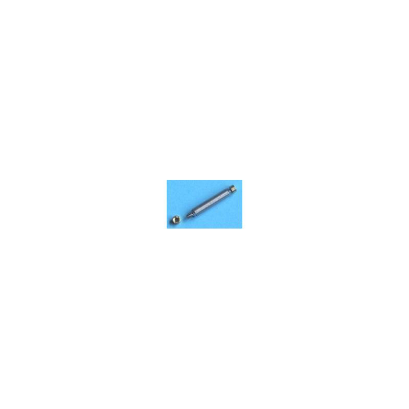 Axe type Romford 3,17 mm (bouts carrés) écartement 12mm