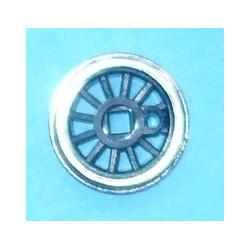 Roue type Romford Diamètre 12 mm, 12 rayons