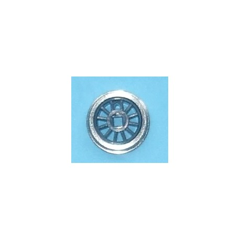 Roue type Romford Diamètre 13 mm, 12 rayons