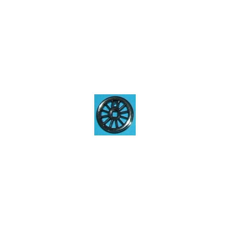 Roue type Romford Diamètre 14 mm, 12 rayons