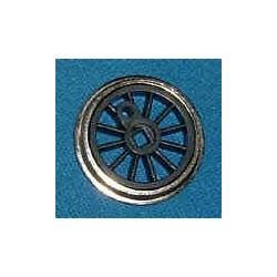 Roue type Romford Diamètre 16 mm, 12 rayons