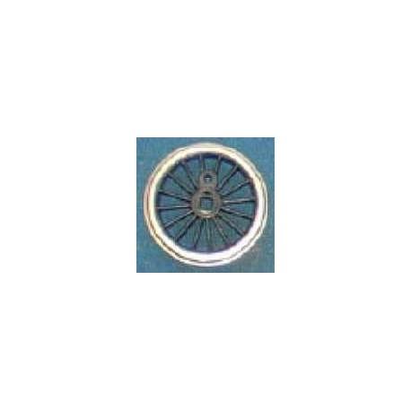 Roue type Romford Diamètre 18 mm, 16 rayons