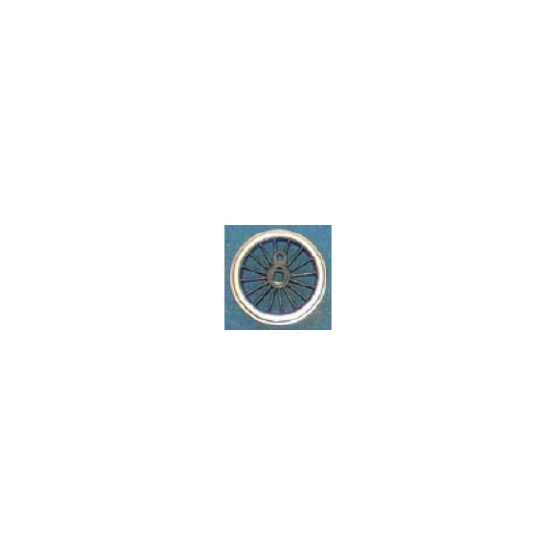Roue type Romford Diamètre 19 mm, 16 rayons