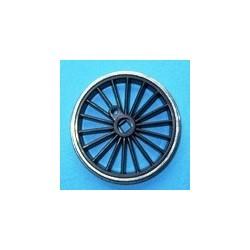 Roue type Romford Diamètre 24 mm, 18 rayons