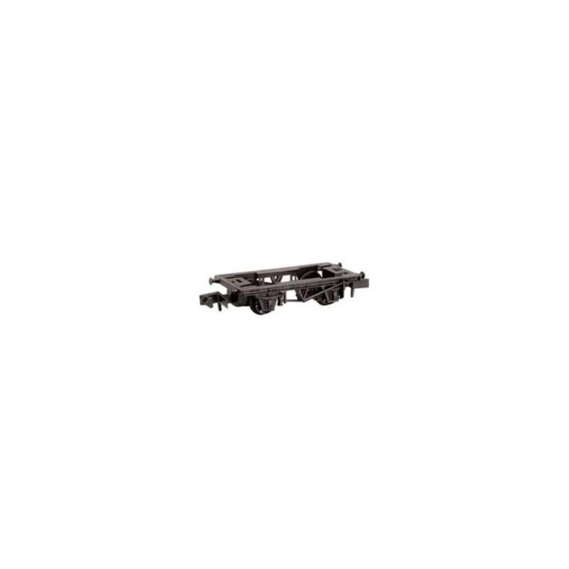 Châssis de longueur 32 mm - longerons imitation acier - N