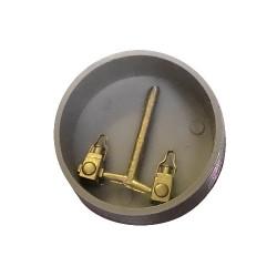 Lampe Échelle 1:43 en bronze à cire perdue fabrication SLATER'S
