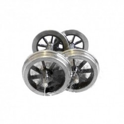 "2'8 1/2"" 8 Spoke Lowmak Wheel Fine Scale"