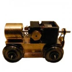 Bogie moteur roues de 10,5 mm - entraxe : 40 mm