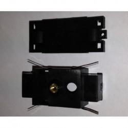 Boitier vide avec les contact pour Tenshodo - Entre-axes : 28 -7mm