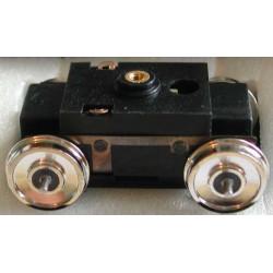 Tenshodo monté 28,7mm - Roues pleines - Diamètre : 10,5mm