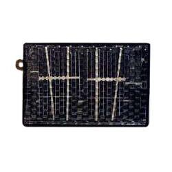 Cellule solaire en boitier plastique 0,45V 800mA