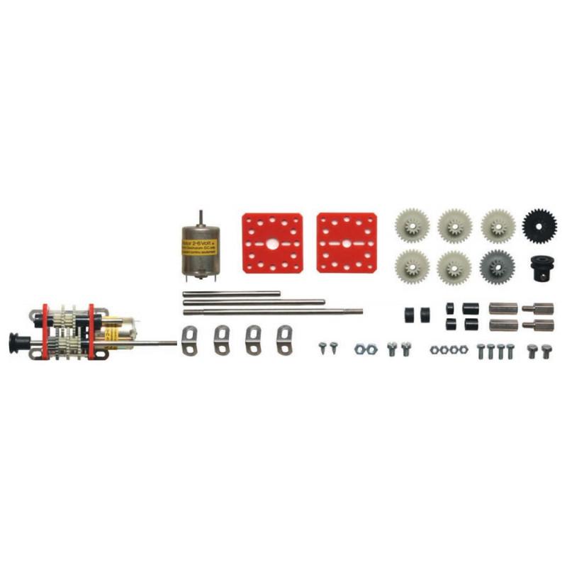 Kit N°1 : Kit complet livré avec le moteur (2-6 V)