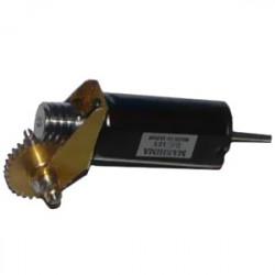 """Réducteur complet - Réduction 40:1 - Axe moteur 1,5 mm - Axe de sortie 1/8"""" Module 0,3"""