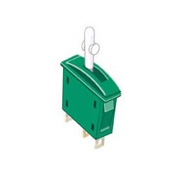 Interrupteur Inverseur marche/marche vert