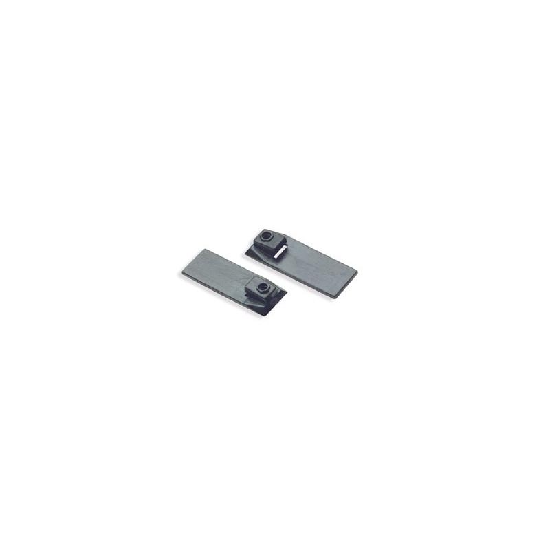 Fixations pour rails asymétriques - Environ 100 pièces