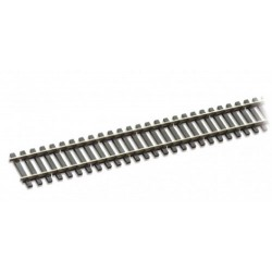 Rail maillechort - traverses imitation bois code 75 - 12 pcs