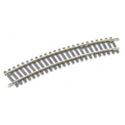 Rail courbe standard rayon N°2 - 438mm