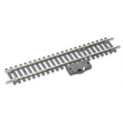 Rail droit 168mm avec interrupteur