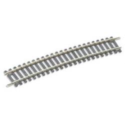 Rail spécial courbe pour utilisation avec les aiguillages Y ST-247