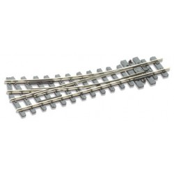 Aiguillage rayon à droite - 304mm (12in) - Electrofrog
