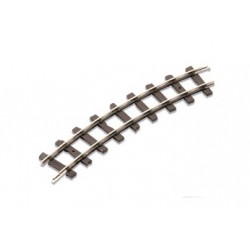 Boite de 8 rails courbes n°1 - 22.5°
