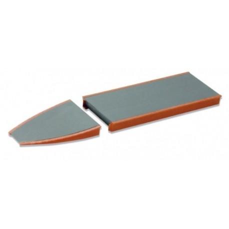 Plateforme de quai - élément rampe - type brique