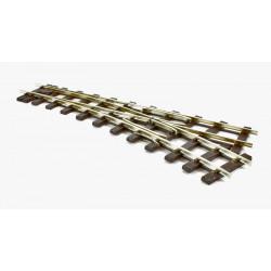 Aiguillage à gauche - Code 200 (965mm) - Electrofrog