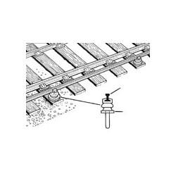 Support pour rail conducteur - pour Code 60