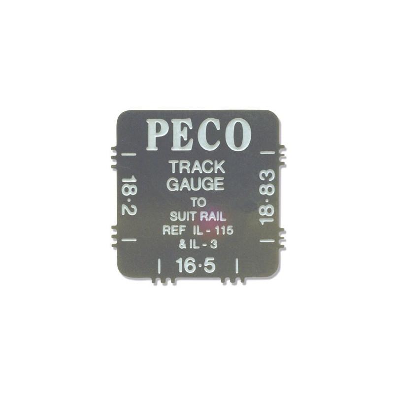 Gabarit en inox pour rail - pour 16 - 5mm - 18 - 2mm et 18 - 83mm