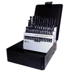 Coffret métal 41 forets HSS 6,0 - 10,0 x 0,1 mm