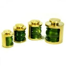 Lanterne 180° vert + led vert la pièce