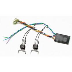 Jeu de coupleurs digitaux avec décodeur et connecteur nem