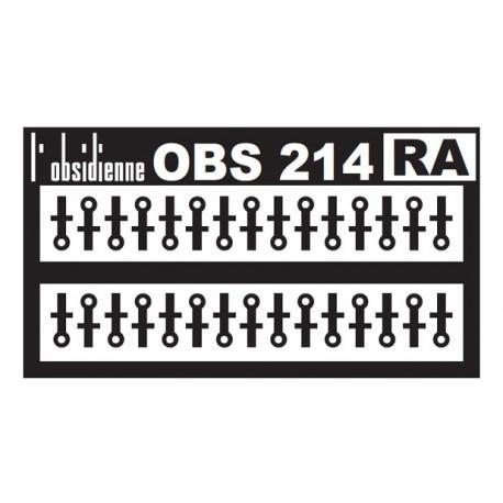 Supports de rambardes - 30 pièces
