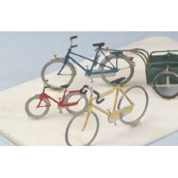 Plaque de 6 vélos + 1 remorque