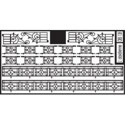 Appuis de fenêtres et balcons pour Immeubles (Motif 4)