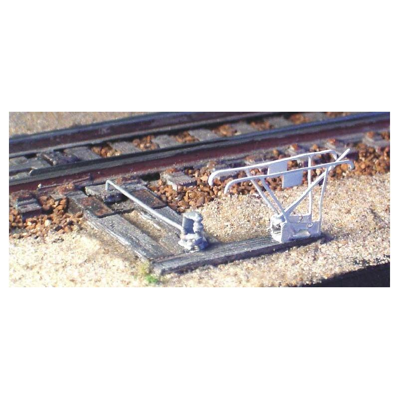Leviers d'aiguilles SAXBY 6 leviers avec support et platine