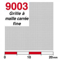 Grille à maille carrée fine en maillechort
