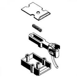O-scale coupler en acétate (plastique) - 1 paire
