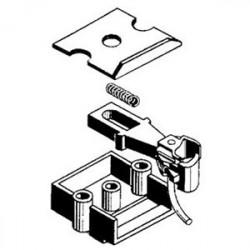 O-scale coupler en acétate (plastique)