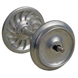 Paire d'essieux montés LGB Diam 29 mm