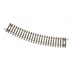 Rail ROCO courbe R2 de 358mm 30°