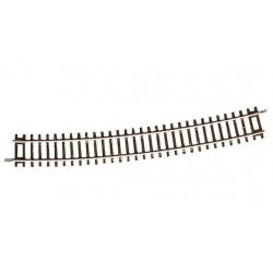 Rail ROCO courbe R20 : 1962/5°