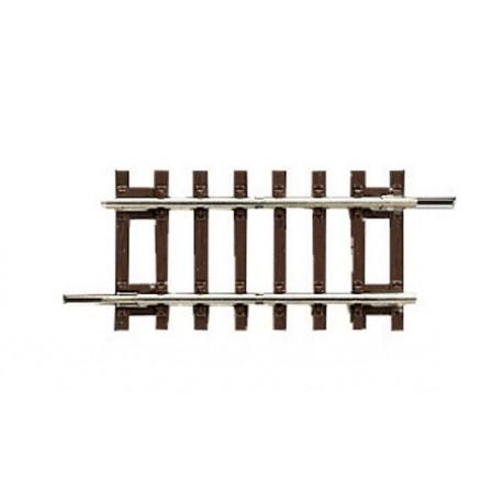 Rail ROCO bois 57,5mm rigide diagonal