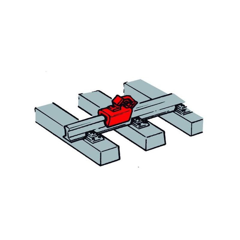 Sabots de frein à placer sur les rails - 12 pcs