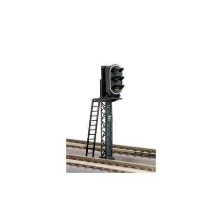 Signal lumineux type SNCF à 3 feux