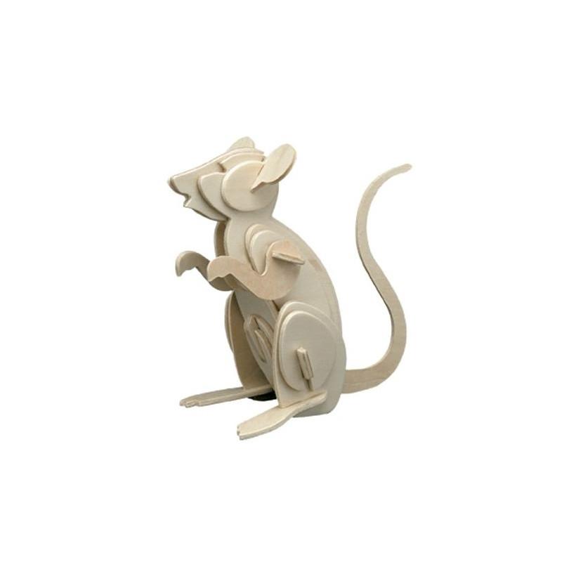 Puzzle en bois : La souris